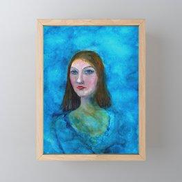 La Mona Framed Mini Art Print