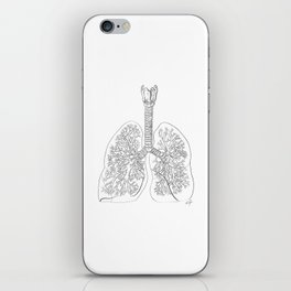 Tracheobronchial Tree iPhone Skin