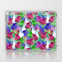 Parrots Crowd Laptop & iPad Skin