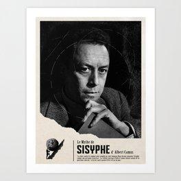 The Myth of Sisyphus by Albert Camus Art Print