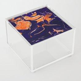 Abstract paint Art Acrylic Box