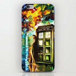 Time Lord iPhone Skin