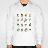 hotline miami Hoodies featuring Hotline Miami by Jarvis Glasses