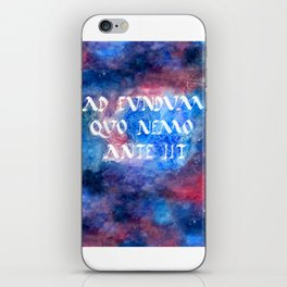 To Boldly Go iPhone Skin