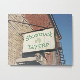 Shamrock Tavern 01 Metal Print