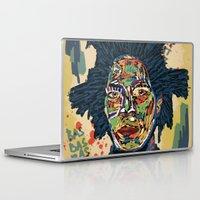 basquiat Laptop & iPad Skins featuring BASQUIAT by Blaz Rojs