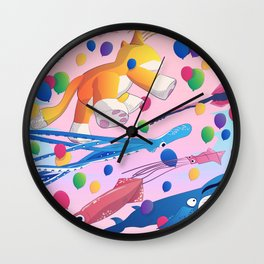 Kite Parade Wall Clock