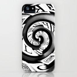 Typo iPhone Case