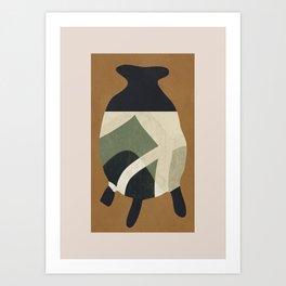 Abstract Art -Vase Art Print