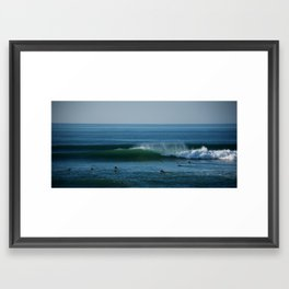 Surfers. Framed Art Print