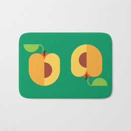 Fruit: Apricot Bath Mat