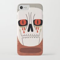 fear iPhone & iPod Cases featuring Fear by Jack Teagle