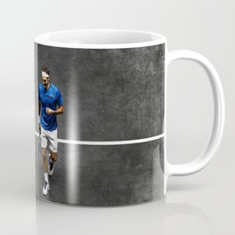 Nadal and Federer Doubles Coffee Mug