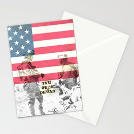 US Army Armed Forces USA Stationery Cards