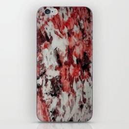 The Faces in the Ruby Red Snow iPhone Skin