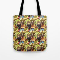 dragons Tote Bags featuring Dragons! by Flora