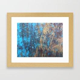 Rusty Art Framed Art Print