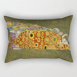 Gustav Klimt - Hope II Rectangular Pillow
