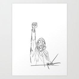 Revolt Art Print