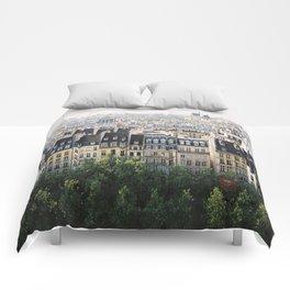 Paris landscape Comforters