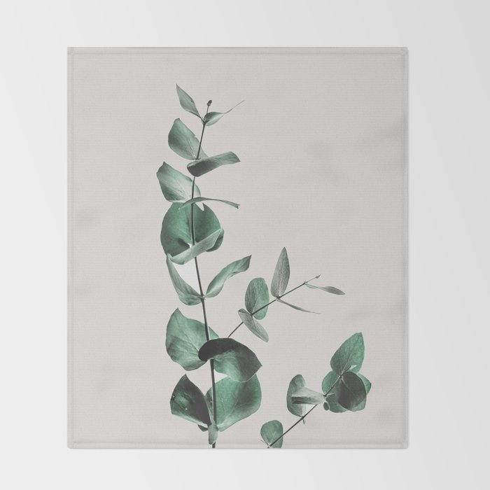 Eucalyptus Throw Blanket