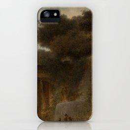 The Cascade by Jean-Honoré Fragonard iPhone Case