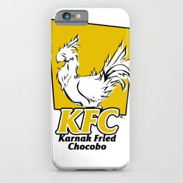 Karnak Fried Chocobo iPhone Case