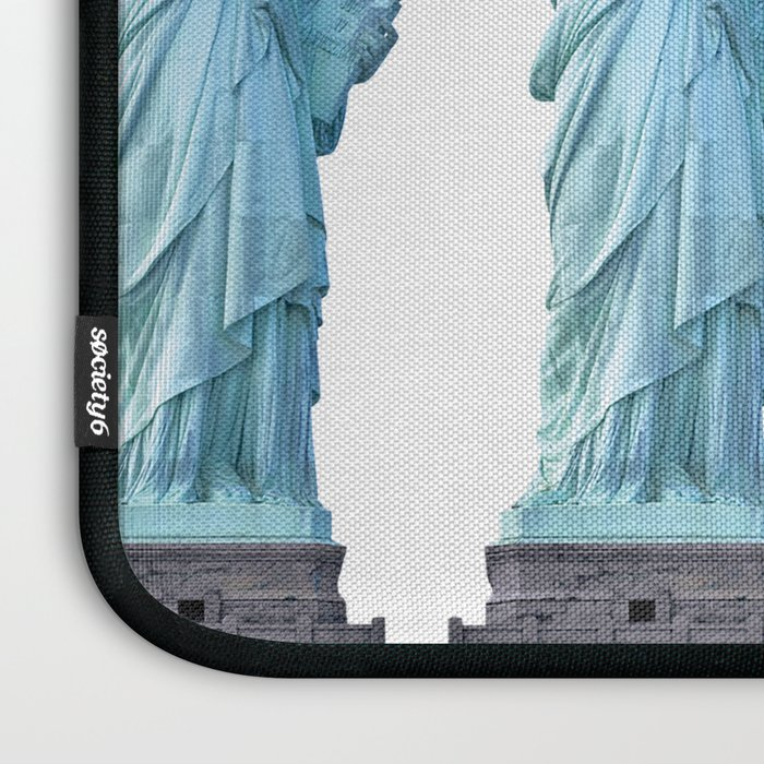 Statue of Liberty with Tennis Racquet Laptop Sleeve