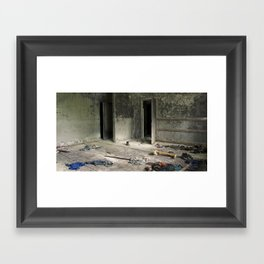 Chernobyl - гардеробна Framed Art Print