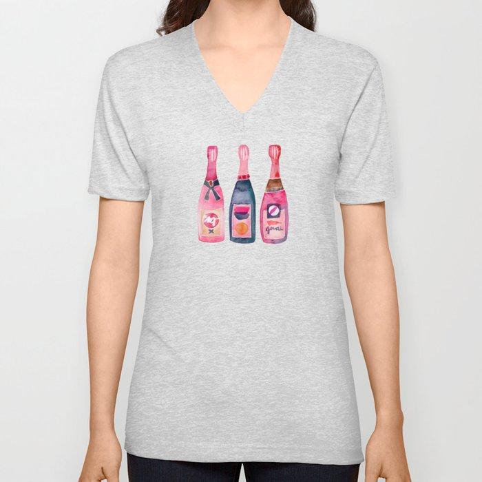 Champagne Collection Unisex V-Ausschnitt