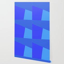 dégradé trapèze bleu roi Wallpaper