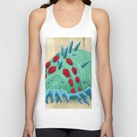nausicaa Tank Tops featuring crystal ohmu by terastar