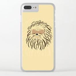 Portrait of Chewbacca Clear iPhone Case