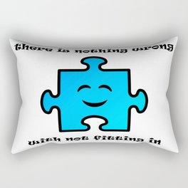 You're Okay Rectangular Pillow