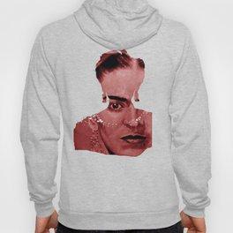 Frida Kahlo - between worlds - red Hoody