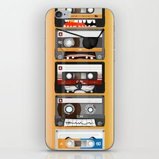 The cassette tape iPhone & iPod Skin