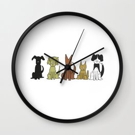 The Pack Wall Clock