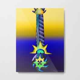 Fusion Keyblade Guitar #119 - Leviathan & Aubade Metal Print