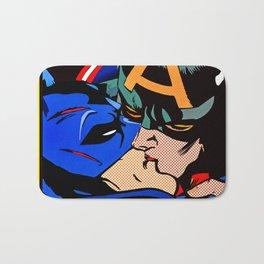 Cap kissing Bruce Bath Mat