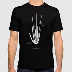 Weapon-X Black LARGE Mens Fitted Tee