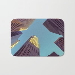 SF high rises Bath Mat