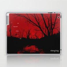 I am haunted when I am sleeping Laptop & iPad Skin