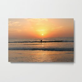 Aiming for the sun Metal Print