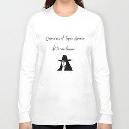 QUIERO SER EL TP DE TU REVOLUCION Long Sleeve T-shirt