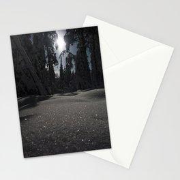 Diamond Snow Stationery Cards