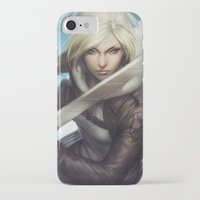annie hall iPhone & iPod Cases featuring Annie by Artgerm™