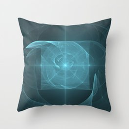 Whirlpool Torus of Love Throw Pillow