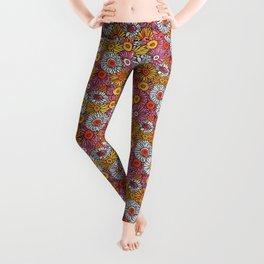 Daisy Pattern Leggings