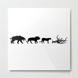 Flerken Evolution Metal Print