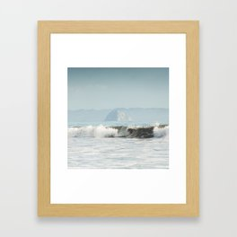 California Surf Framed Art Print